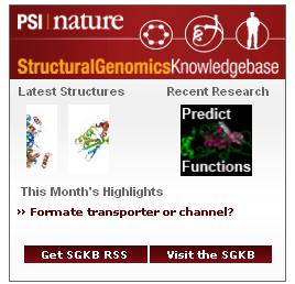 Structural Genomics Knowledgebase widget